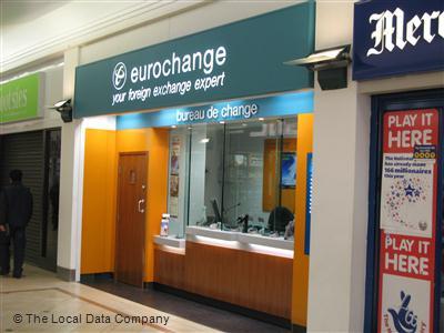 Eurochange plc on humberstone mall bureaux de change in city