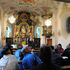 Mitarbeiterausflug zur Mariahilfkapelle und zum Heachahof in Brixlegg - 19.09.2012