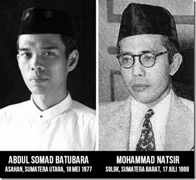 Ustad Abdul Somad dan Mohammad Natsir