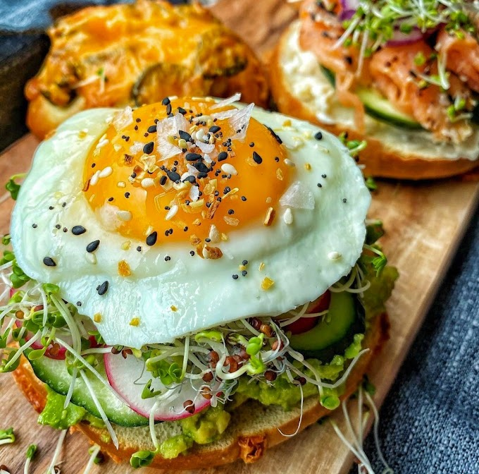Avo Bagel Sammie Recipe | Breakfast Care