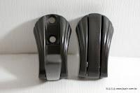 裝潢五金 品名:738-隱藏式衣鉤-2 顏色:鐵黑色 玖品五金