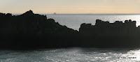 Pointe du Grouin : vue sur le Mont-Saint-Michel