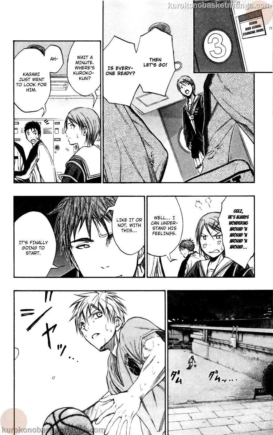 Kuroko no Basket Manga Chapter 108 - Image 12