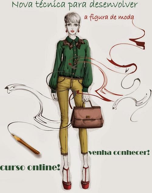 curso online desenho de moda