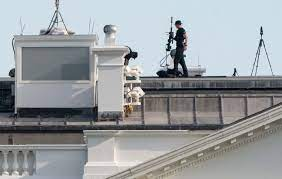 White House: Snipers Return as Lawn Still Billowing Smoke