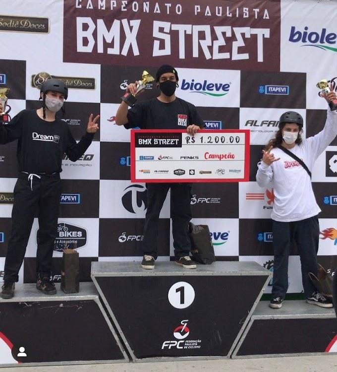 Araçatubense é 3º colocado no Paulista de BMX Street
