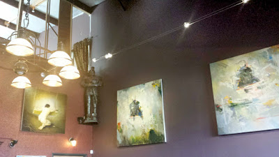 Duel Brewing and Taproom specializes in Belgian Style beers. They also had a large variety of art in their tasting room.