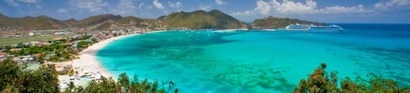 St Maarten Heineken Regatta beach for sailing!