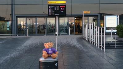 Geoff at Terminal 4