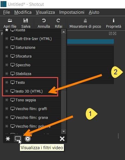 filtri-video-testo