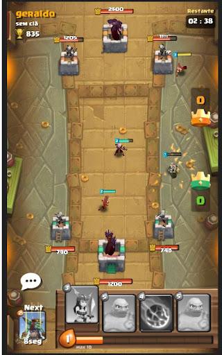 Code Triche Moba Heroes Arena APK MOD screenshots 6