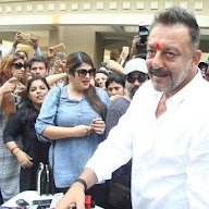 Sanjay Dutt Snapped Coming Out Of Yerawada Prison Photos