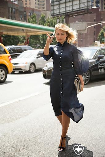 Nasiba Adilova; Editor; Natasha Zinko dress; Sophie Webster shoes; Buro247;