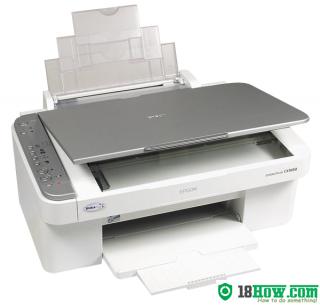 How to Reset Epson CX3650 printer – Reset flashing lights error