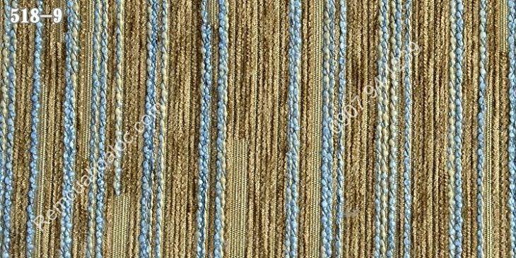 Rèm vải đẹp cao cấp nhung nỉ kẻ một màu 6