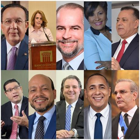 Los 10 cargos públicos que ganan más dinero en República Dominicana