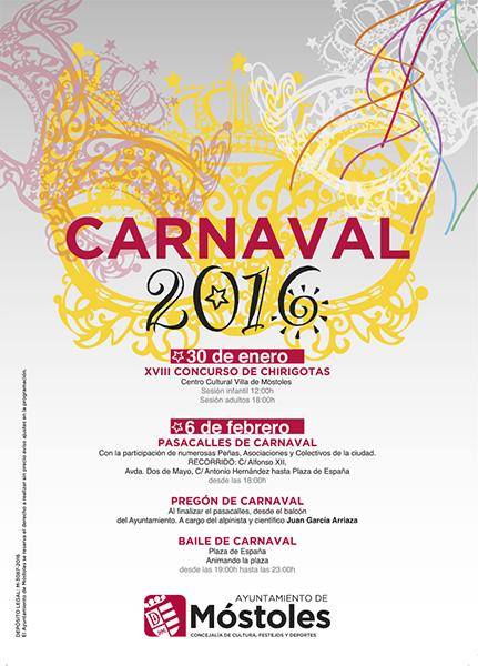 Carnaval 2016 en Móstoles