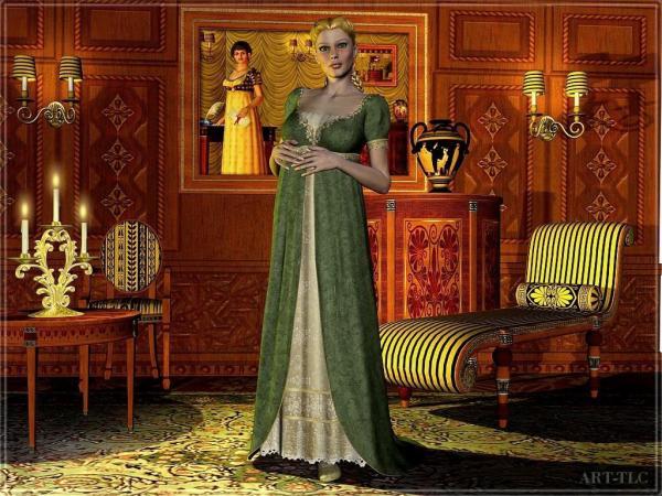 Lady In Green Dress, Magic Beauties 2