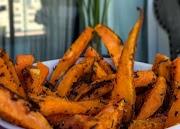 Palitos o bastones de boniato/batata, una receta rápida y sencilla