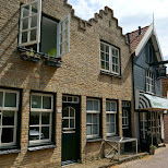 Den Burg streets on Texel in Texel, Noord Holland, Netherlands
