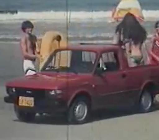 Campanha de lançamento da linha de picapes da Fiat, baseado no Fiat 147