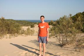 Me on sand dunes