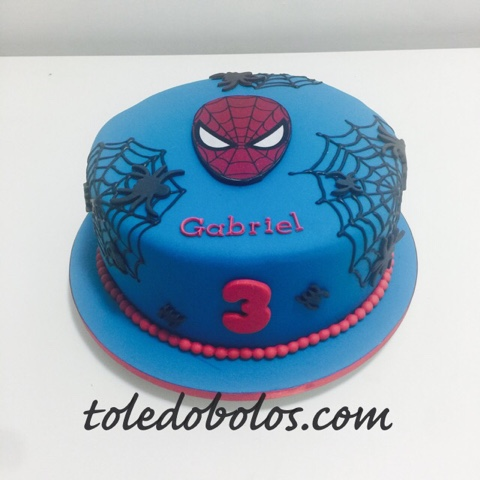 Toledo bolos bolos decorados cupcakes e macarons no rio de bolo homem aranha do gabriel altavistaventures Gallery
