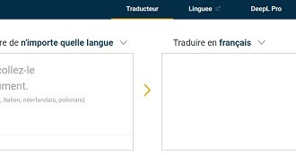 Deepl, le traducteur intelligent bien meilleur que google ...