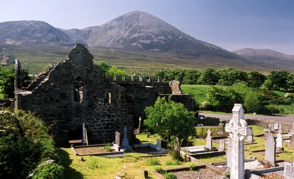 Croagh Patrick, Ireland. Photo by Jennifer Rooks