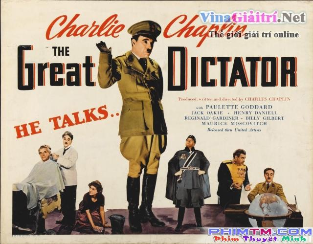 Xem Phim Nhà Độc Tài Vĩ Đại - The Great Dictator - phimtm.com - Ảnh 1