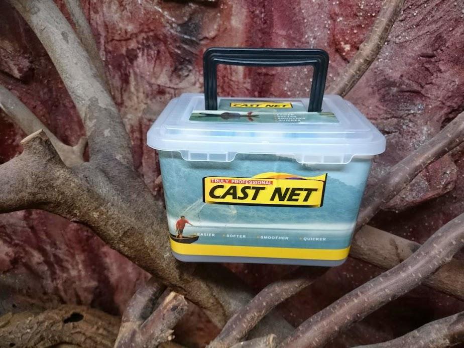 Nr 2 Fischnetz Angelnetz Durchmesser: 3,05m Wurfnetz