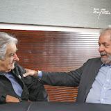 Encontro de Lula com Pepe Mujica em Bras�lia