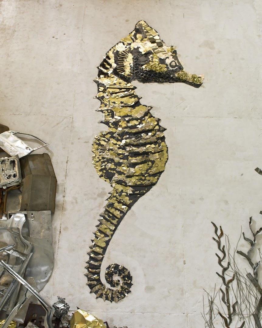 *巴西藝術家VIK MUNIZ:廢金屬回收創作之美! 3