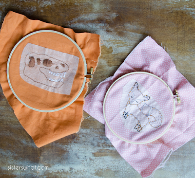 how to teach kids embroidery