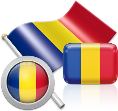 Romanian flag icons pictures collection