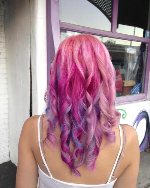 The Best Unboring Styles with Magenta Hair Color By Professional 2017 5