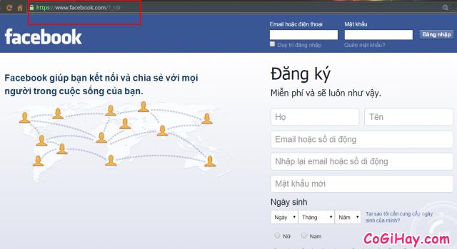 Vào Facebook