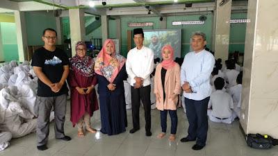 Dewan Kota Jak-Sel Tinjau Program, Sedekah Ilmu, Di SMK Darussalam