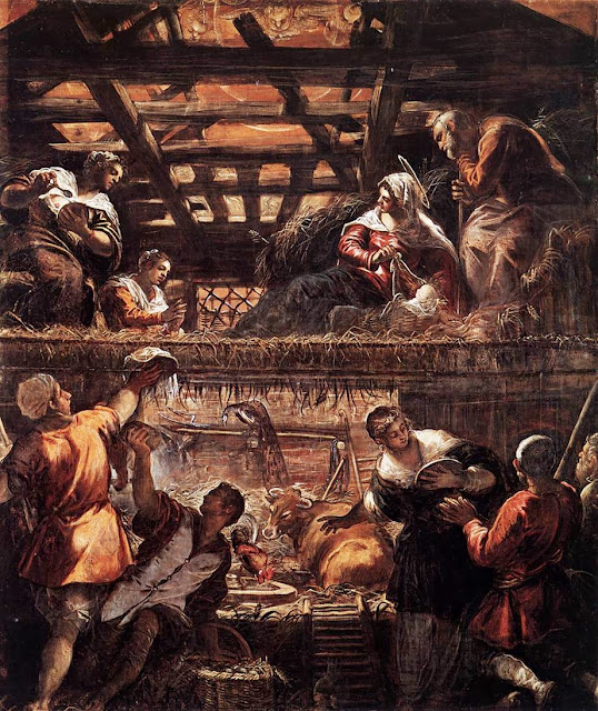 Tintoretto - The Adoration of the Shepherds