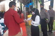 Polres Soppeng Mengerahkan Personil Pengamanan SKD Calon PNS Lingkup Pemerintah Kabupaten Soppeng