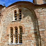15. Wall and windows. The Church of St. Panteleimon in Gorno Nerezi. XII Century