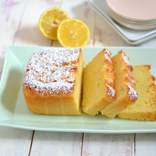 Lemon Ricotta Pound Cake.