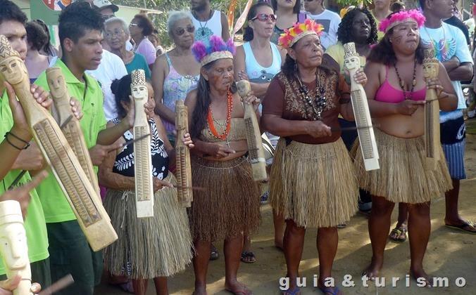 Festa do Caboclo Bernardo em Regência