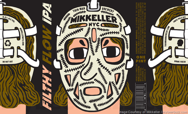 Mikkeller NYC & Thin Man Brewery Collaborate On Filthy Flow IPA Cans