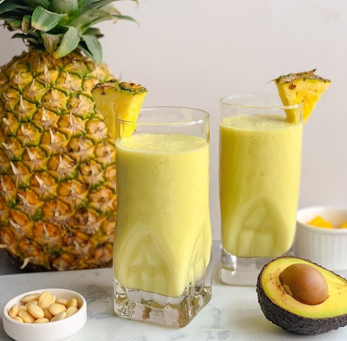 Pineapple & Avocado Smoothie Recipe | Breakfast Care | Healthy Breakfast