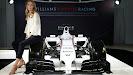 Williams Martini FW36 with Martini boss