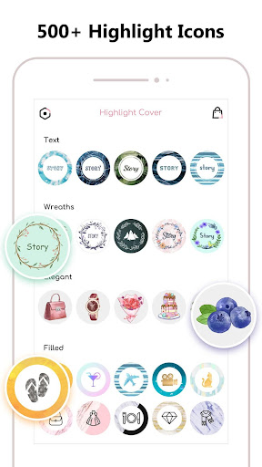Screenshot for Highlight Cover Maker for Instagram Story in Hong Kong Play Store