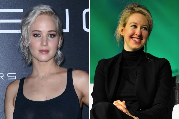 Jennifer lawrence elizabeth holmes theranos founder adam mckay biopic 61016
