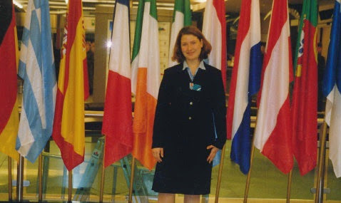 Kim interned for a member of the European Parliament. #StudyAbroadBecause...an adventure of a lifetime awaits you