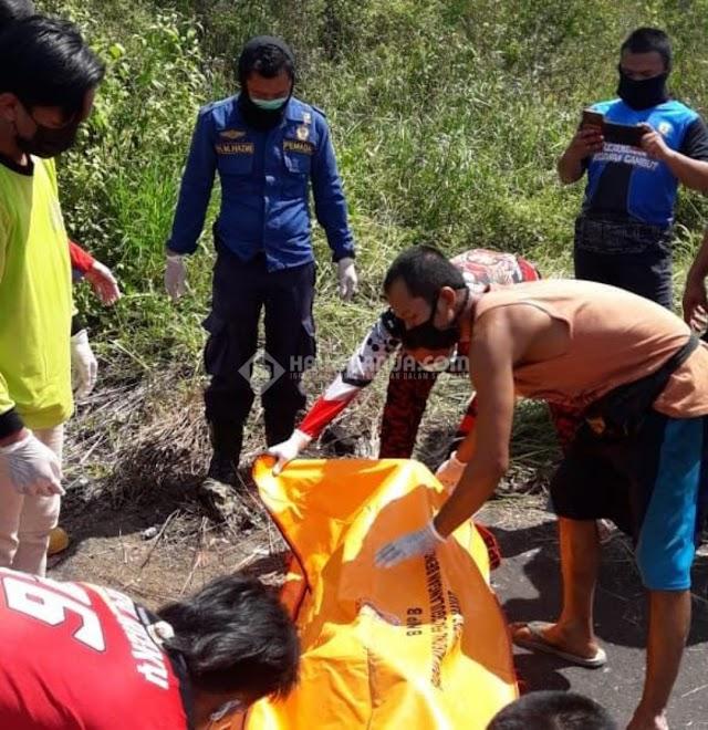 Seorang Pria Ditemukan Tewas Bersimbah Darah di Semak-semak Dekat Terminal Gambut KM 17